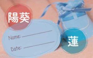 """日本新生儿名字""""莲""""和""""阳葵""""受青睐"""