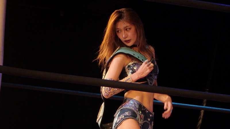 モデル&グラビアアイドルとしても活躍している「第5代インターナショナルプリンセス新王者・上福ゆき選手(東京女子プロレス所属) 上福ゆき公式インスタグラムから引用