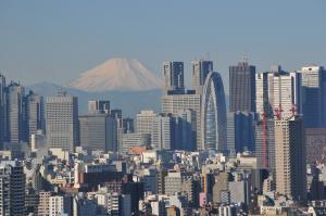 無料で地上約105mから富士山、東京を眺望、文京シビックセンター展望ラウンジ【連載:アキラの着目】