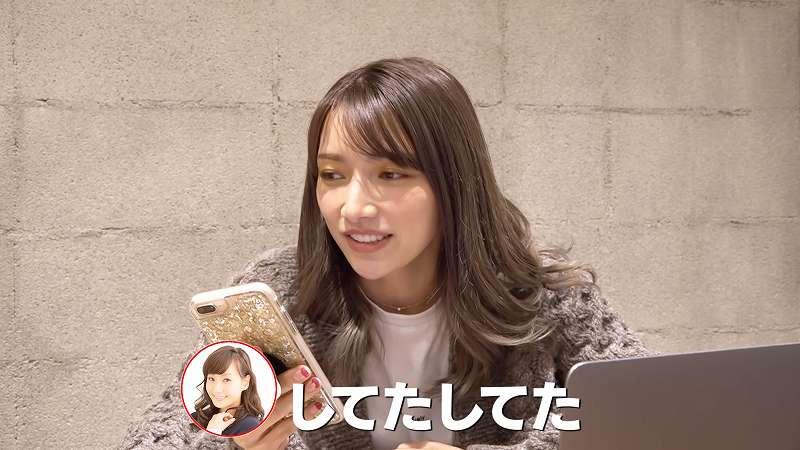 2020年12月20日に開催する自身のイベントに藤本美貴さんの出演承諾を取り付けた後藤真希さん YouTubeチャンネル「ゴマキのギルド」から引用