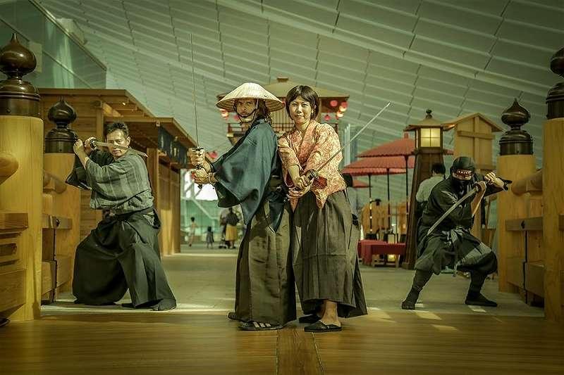 侍アクションを体験しムービーを残すことができるサービス SAMURAI FILM 公式サイトから引用