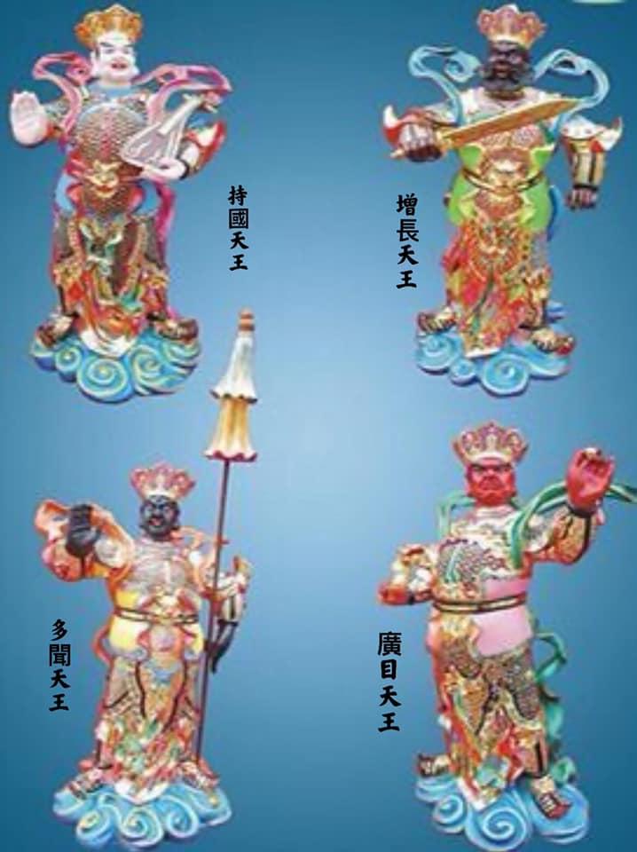 四大天王向佛请法,功徳无量🙏 作者:江东良一20210326