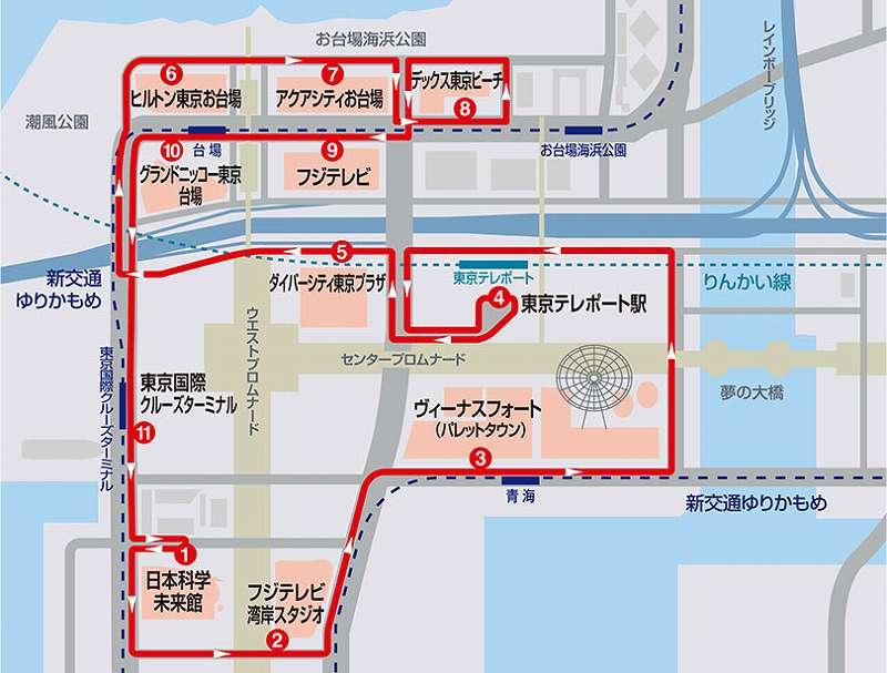 東京ベイシャトル 公式サイトから引用