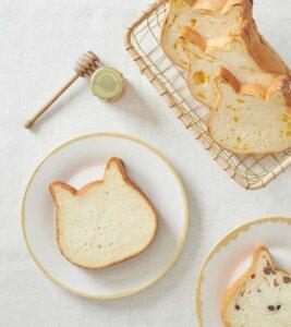 ねこねこ食パン ねこねこ食パン | MILK 100% SHOKUPAN公式サイトから引用
