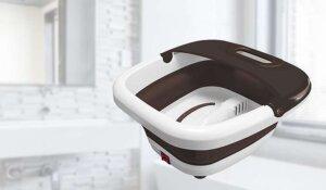 自宅で手軽に足湯ができ、持ち運びできる折り畳み式フットバス【連載:アキラの着目】